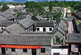 华鲁集团承建的山东省府旧址工程